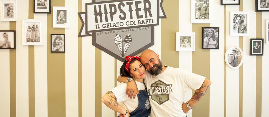 HIPSTER il gelato coi baffi