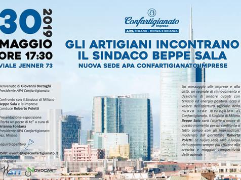 Il 30 maggio inaugurazione ufficiale della nuova sede di Milano con il Sindaco Sala