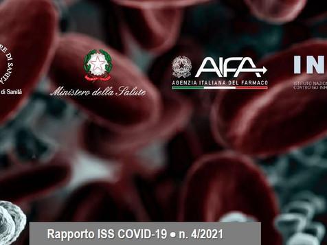 Rapporto Istituto Superiore di Sanità COVID 19