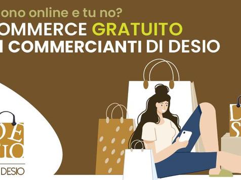 Distretto Urbano del Commercio di Desio - piattaforma di e-commerce