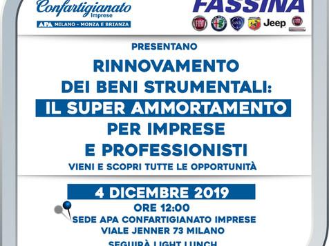 Come posso approfittare del Superammortamento? Il 4 dicembre a Milano l'incontro dedicato ad aziende