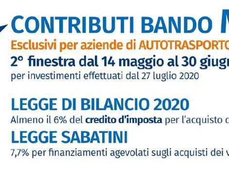 TRASPORTO MERCI - Bando INVESTIMENTI  MIMS 2021 Servizio di assistenza alle imprese