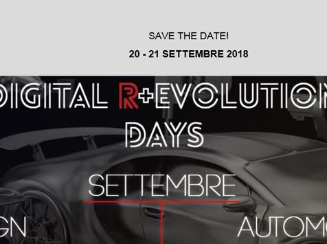 Il 20 e 21 settembre Digital r+evolution days