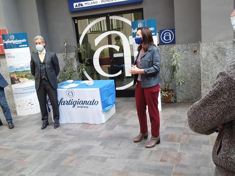 MILANO - I vertici di Confartigianato e i municipi incontrano le imprese