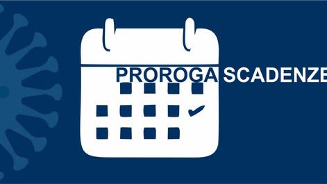 Nuovi termini per i versamenti in scadenza nel mese di maggio  2020  previsti dal decreto liquidita'