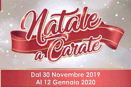 Il Natale a Carate