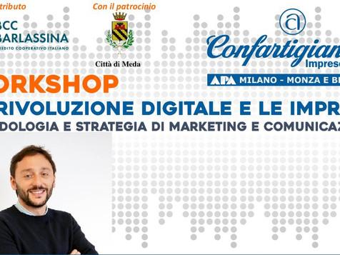 Workshop di marketing e comunicazione nell'era del digital