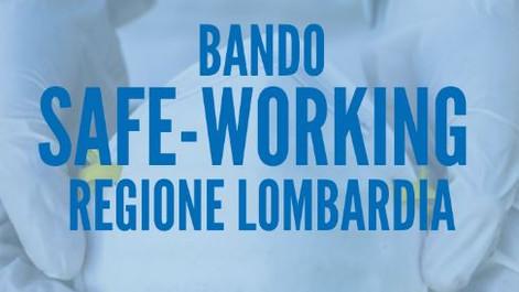 BANDO SAFE WORKING Regione Lombardia: nuova versione del bando con integrazione interventi di DIGITA
