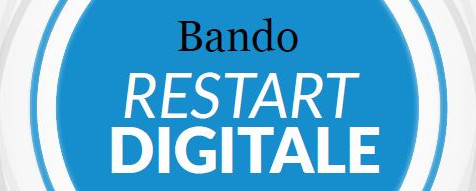 Dal 7 aprile le domande per Restart digitale