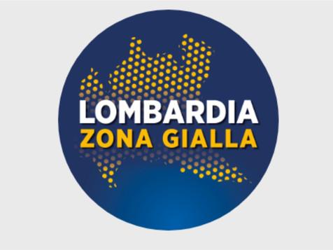 Lombardia in Zona Gialla da lunedì 1° Febbraio