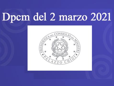 Il Dpcm definitivo in vigore dal 6 marzo
