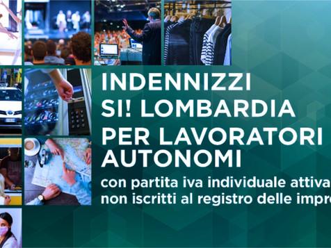 SI! Lombardia – Avviso 2. Indennizzi per i lavoratori autonomi con partita IVA individuale