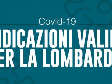 Ordinanza Regione Lombardia: confermato il coprifuoco e recepito l'ultimo DPCM