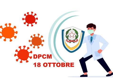 Firmato il DPCM 18 ottobre 2020: le principali novità