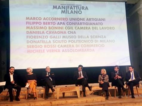 Presentate oggi a Milano le azioni per lo sviluppo della manifattura digitale in città