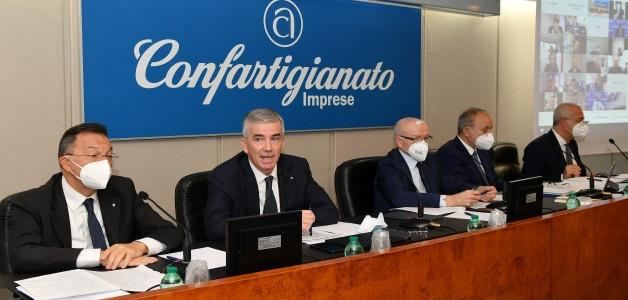 Marco Granelli nuovo Presidente di Confartigianato Imprese. Al suo fianco i vice Presidenti Massetti
