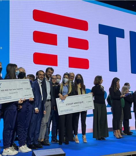 A CINIFABRIQUE il premio TIM da 5mila euro