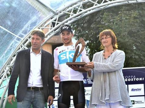 Coppa Agostoni: Gianni Moscon è il re delle Brianza. Sul podio i trofei degli artigiani