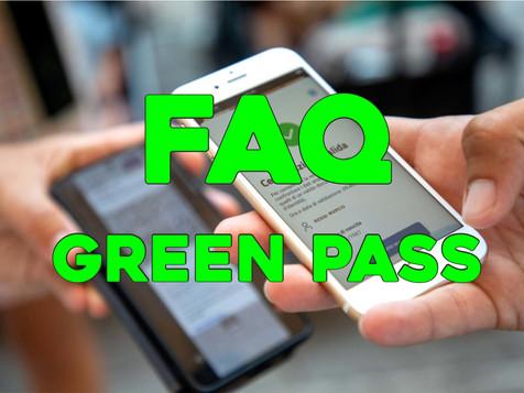 GREEN PASS nei luoghi di lavoro – FAQ del Governo