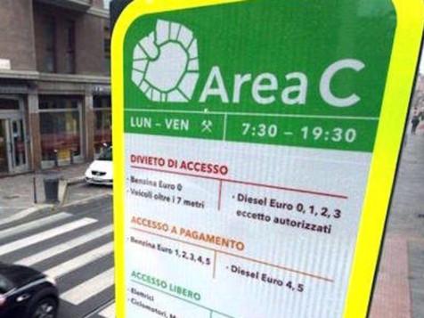Comune di Milano: novità Area C - ottobre 2017
