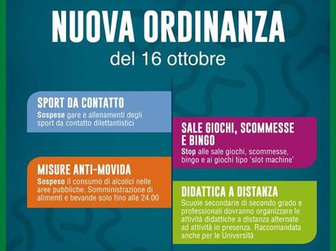 COVID-19, Ordinanza n.620:  indicazioni valide per Regione Lombardia