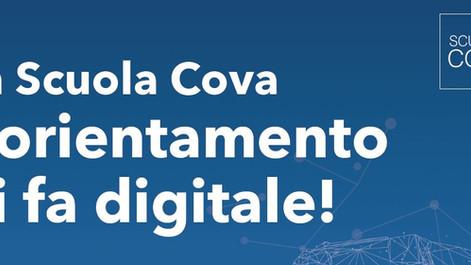 Scuola Cova: l'orientamento si fa digitale! Appuntamento su Meet il 12 dicembre e il 16 gennaio
