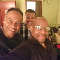 With Ray Parker Jr and Al Turner