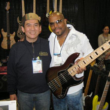 With Yas from Performance Guitars