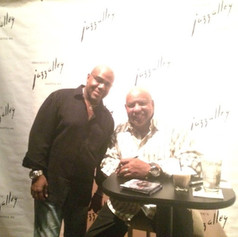 With Gerald Albright