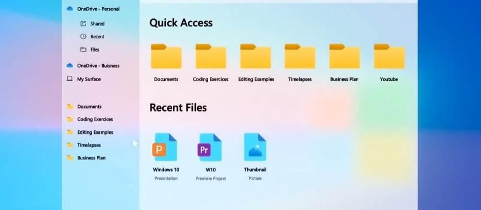 Microsoft откажется от старых иконок в осеннем обновлении Windows 10
