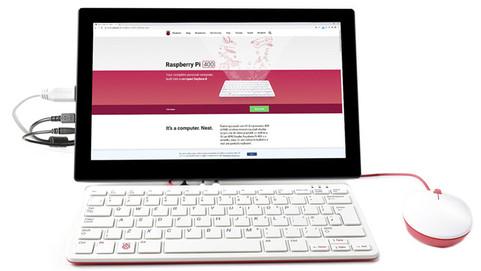 Компьютер-клавиатуру Raspberry Pi 400 теперь можно купить в комплекте с сенсорным дисплеем