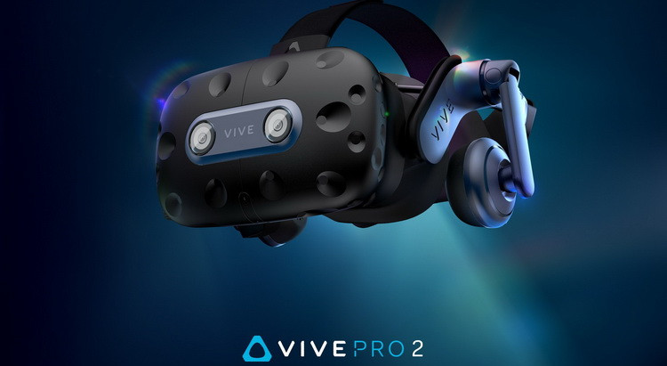 HTC представила компьютерный VR-шлем Vive Pro 2 с разрешением 5K, 120 Гц и широким углом обзора