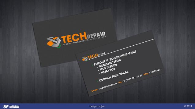 """Визитка """"Tech Repair"""""""