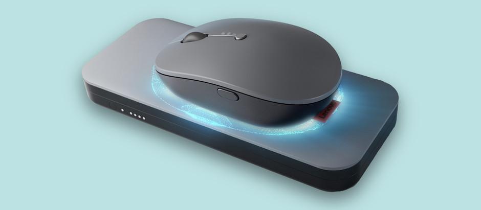 Lenovo представила мышку с беспроводной зарядкой