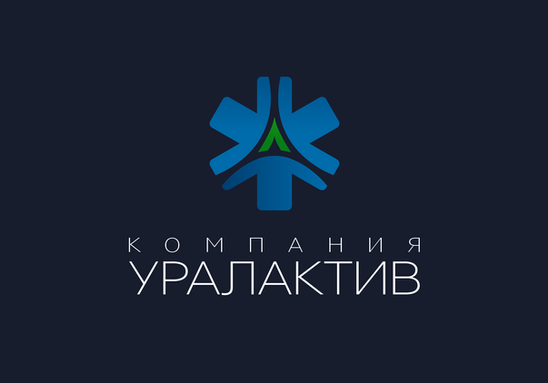 """Логотип """"УРАЛАКТИВ"""""""