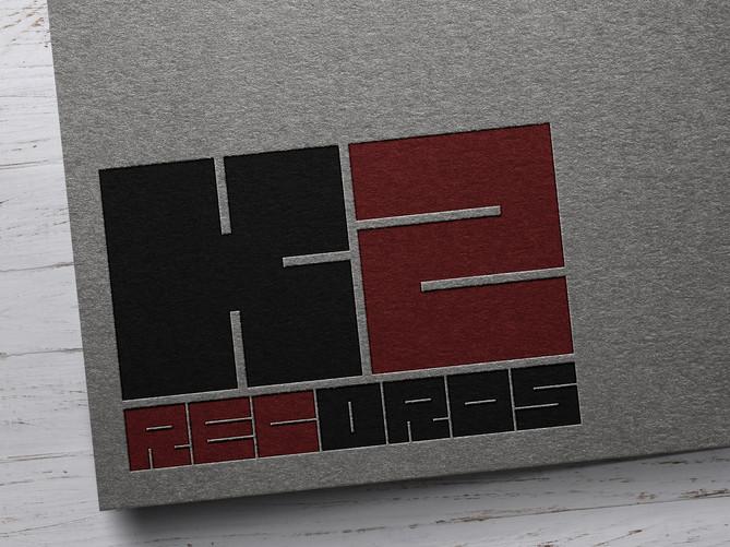 """Логотип """"К2 RECORDS"""""""