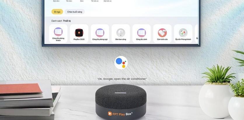 FPT Play Box — первая в мире телеприставка и умная колонка на Android TV