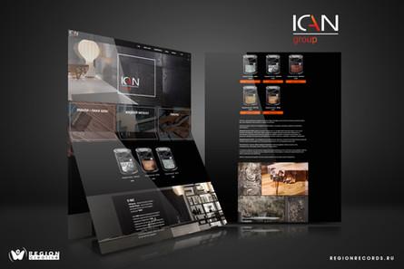 Разработка сайта для ICAN-GROUP