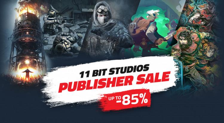 в Steam стартовала распродажа игр 11 bit studios со скидками до 90 %
