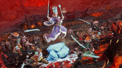 Новый режим и битва с кровожадом показаны в геймплейном ролике Total War: Warhammer III
