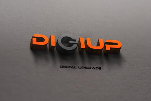 "Логотип ""DiGiUP"""