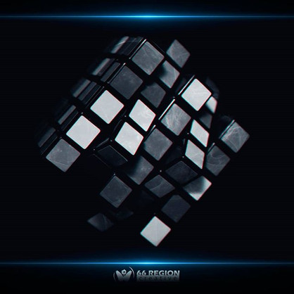 Обоя REGION RECORDS CUBE 3D_скачать ориг