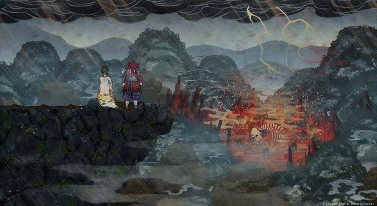Konami представила стильный роглайк-экшен GetsuFumaDen: Undying Moon в стиле японской живописи
