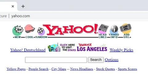 Прокси-сервис TheOldNet позволит просмотреть сайты так, как они выглядели в 1996-2012 годах