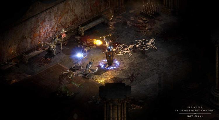 Видео: много геймплейных демонстраций Diablo II: Resurrected с прохождением за разных персонажей