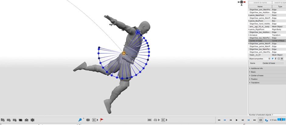 Программа для physics-based анимации персонажей Cascadeur вышла в ранний доступ