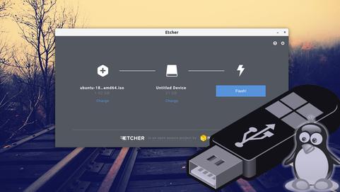 Как установить Linux на USB флешку?