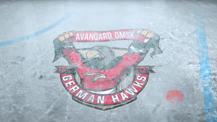 Анимированное лого для официального фан клуба омского хоккейного клуба «Авангард» в Германии