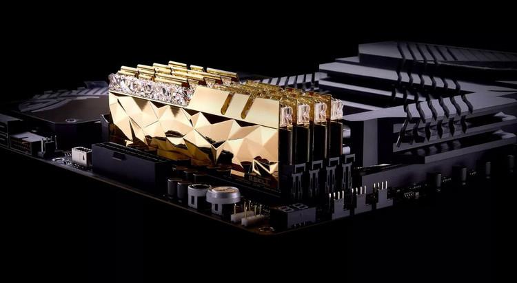 G.Skill представила элитные комплекты модулей памяти Trident Z Royal Elite с частотой до 5333 МГц