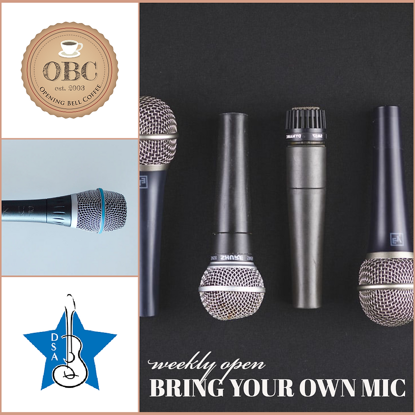 Dallas Songwriters Association BYOM (Bring Your Own Mic)